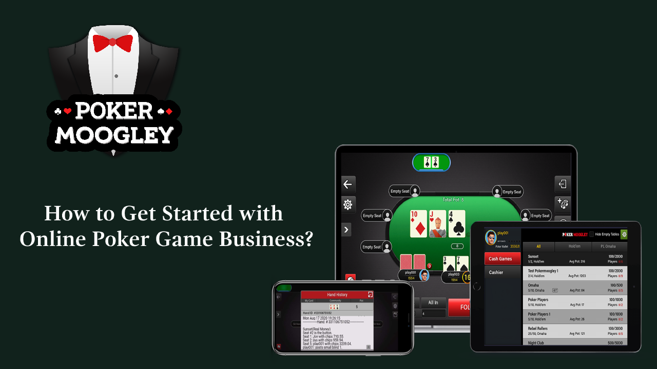 Uploaded ToHow to Get Started with Online Poker Game Business?